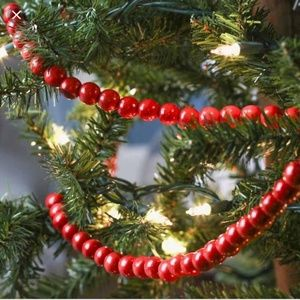 Other - Red tree Garland